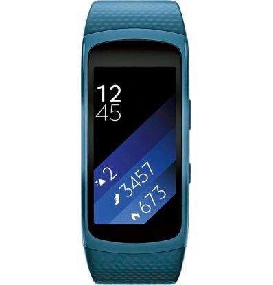 Фитнес-трекер Samsung Gear Fit 2 Blue (SM-R3600ZBASEK)