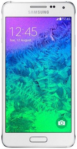 Мобильный телефон Samsung Galaxy Alpha G850F Dazzling White