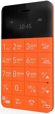 Мобильный телефон Elari CardPhone Orange (LR-CP-RNG)