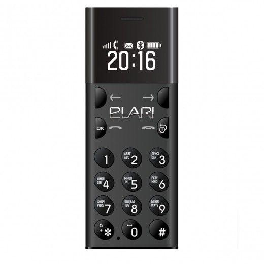 Мобильный телефон ELARI NanoPhone Jet Black (LR-NP-JBL)
