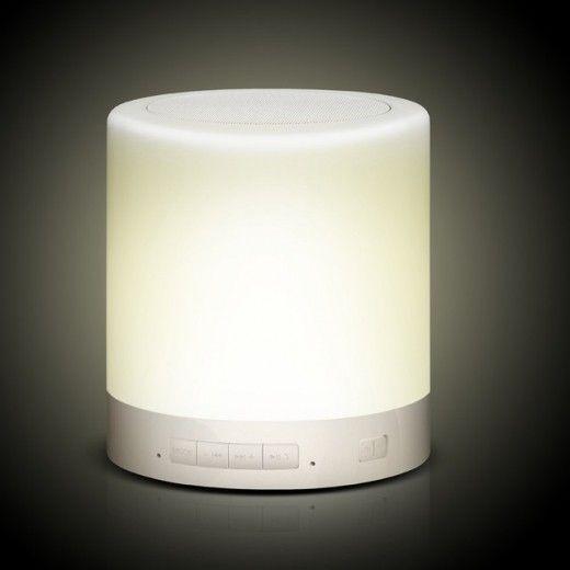 Портативная акустика Touch Lamp White