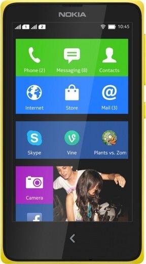 Мобильный телефон Nokia XL Dual sim Yellow