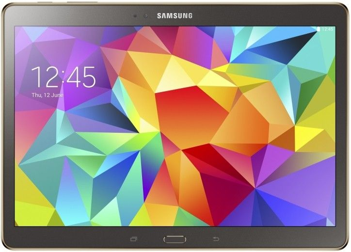 Планшет Samsung Galaxy Tab S 10.5 16GB LTE Titanium Bronze (SM-T805NTSASEK)