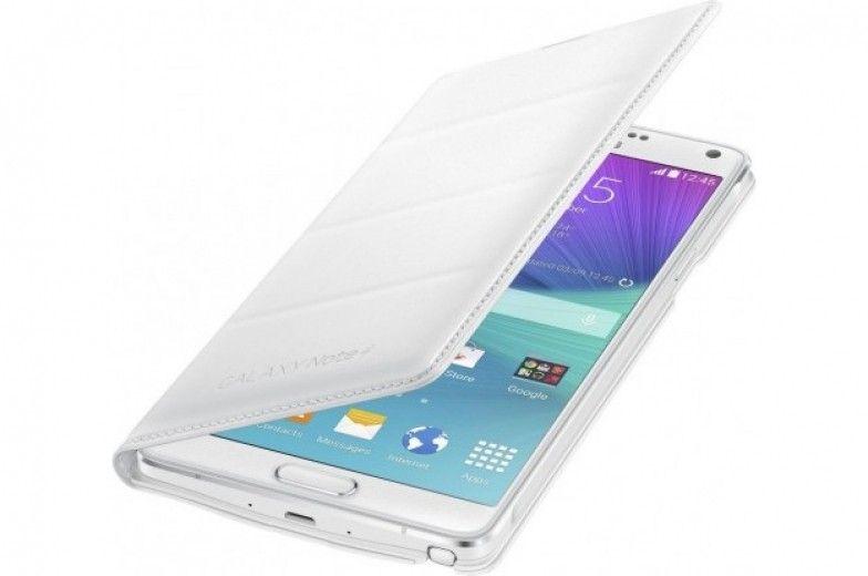 Чехол Samsung Flip Wallet Classic Edition для Galaxy Note 4 White (EF-WN910FTEGRU)
