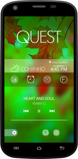 Мобильный телефон Qumo Quest 506 Black