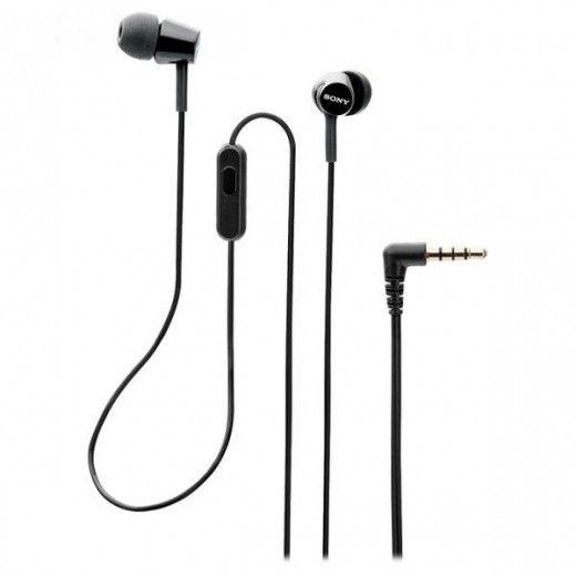 Навушники Sony MDR-EX155AP Black