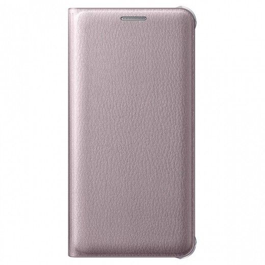 Чехол-книжка Flip Wallet для Samsung A3 2016 Pink Gold (EF-WA310PZEGRU)