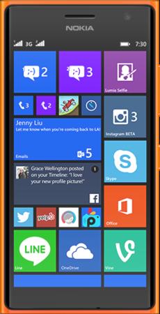 Мобильный телефон Nokia Lumia 730 Dual SIM Orange