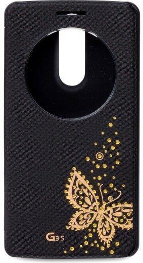 Чехол Voia для LG G3s с бабочкой