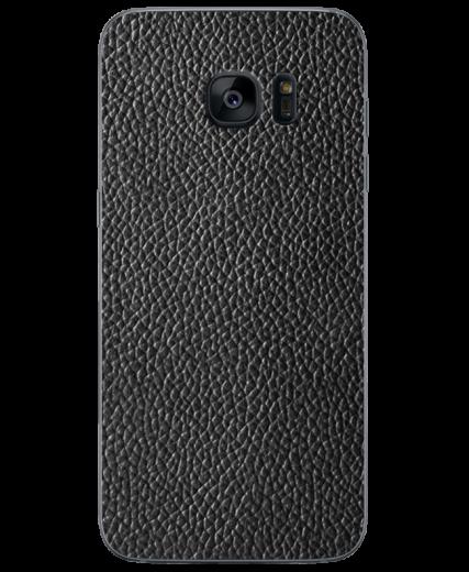 Кожаная наклейка Classic Black  для Samsung Galaxy S7 (G930)