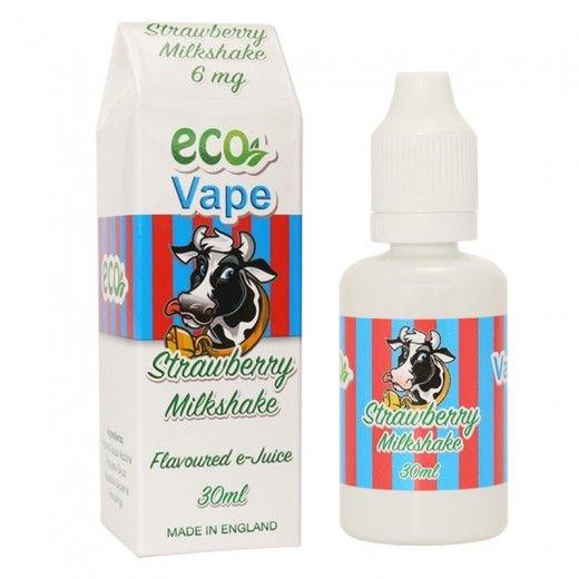 Жидкость для электронных сигарет Strawberry Milk Shake MAN 0 мг/мл
