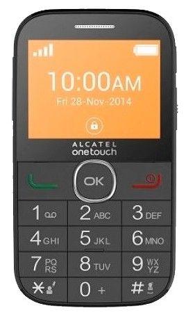 Мобильный телефон Alcatel One Touch 2004G Black