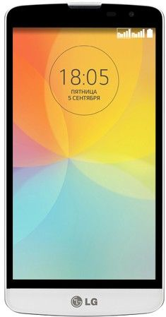 Мобильный телефон LG L Bello D335 White