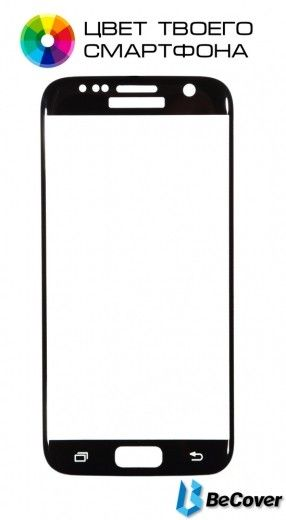 Защитное стекло BeCover для Samsung Galaxy S7 G930/G935 Black