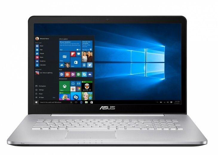 Ноутбук ASUS N752VX (N752VX-GB157T)