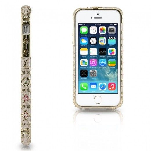 Бампер Newsh MERAL AND DIAMONDS iPhone 6 White