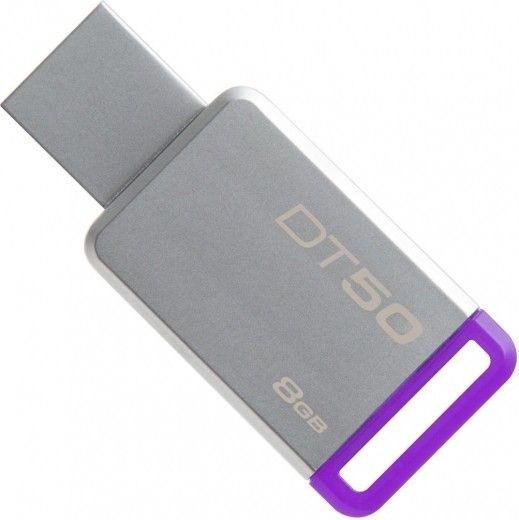 USB флеш накопичувач Kingston DataTraveler 50 8GB Purple (DT50/8GB)
