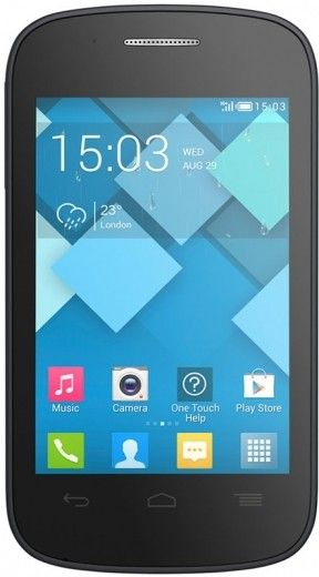 Смартфон Alcatel One Touch 4015D POP C1 Dual Sim Bluish Black