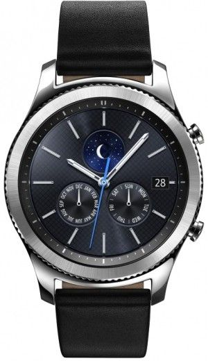 Смарт часы Samsung Gear S3 Classic (SM-R770NZSASEK)