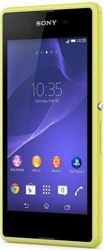 Смартфон Sony Xperia E3 Dual D2212 Lime