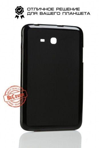 Силиконовый чехол BeCover для Samsung Tab 3 Lite T110/T111/T113/T116 Black