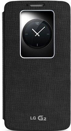 Чехол LG QuickWindow для LG G2 D802 Black (CCF-240G.AGEUBK)