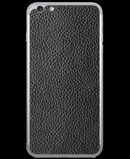 Кожаная наклейка Classic Black  для iPhone 6 Plus
