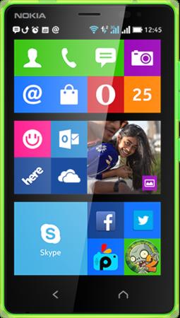 Мобильный телефон Nokia X2 Dual Sim Green