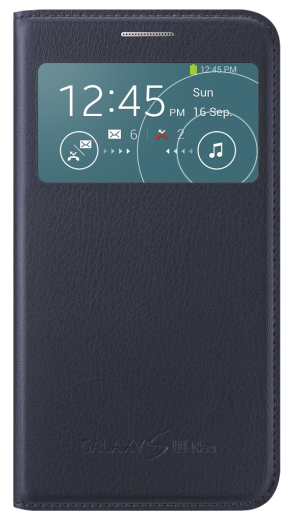 Чехол Samsung S View EF-CI930BLEG Indigo Blue для Galaxy S3 Neo