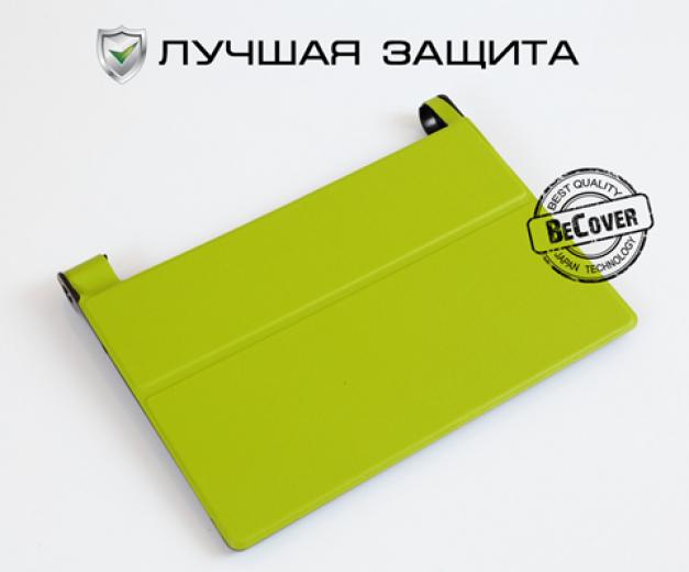 Чехол-книжка BeCover Smart Case для Lenovo Yoga Tablet 3 10 X50 Green