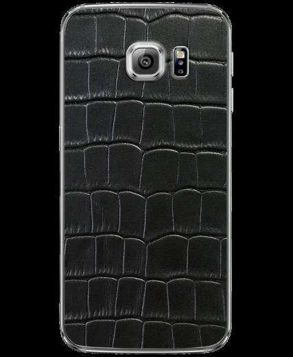 Кожаная наклейка Classic Croco  для Samsung Galaxy S6 (G920)