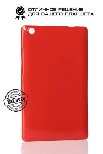 Силиконовый чехол BeCover для Lenovo Tab 2 A8-50 Red