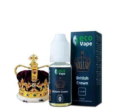 Жидкость для электронных сигарет ECO Van Vape British Crown 0 мг/мл