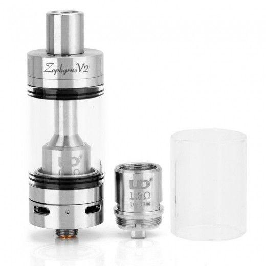Атомайзер UD Zephyrus V2 RTA Kit Silver (UDZV2KSL)
