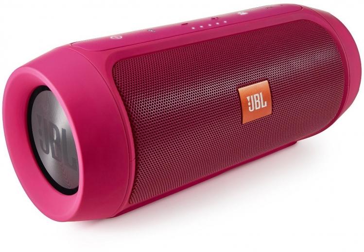 Портативная акустика JBL Charge2+ Pink (CHARGE2PLUSPINKAM)