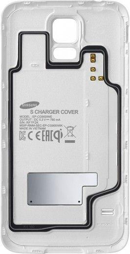 Комплект для беспроводной зарядки для Galaxy S5 (EP-WG900IWRGRU)