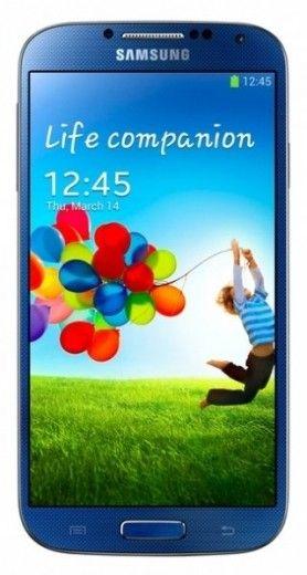 Мобильный телефон Samsung I9500 Galaxy S4 Blue