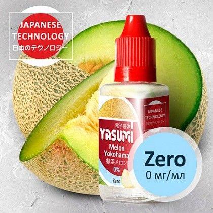 Жидкость для электронных сигарет Yasumi Melon Yokohama 0 мг/мл