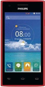Мобильный телефон Philips Xenium S309 Red