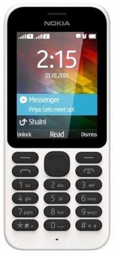 Мобильный телефон Nokia 215 White