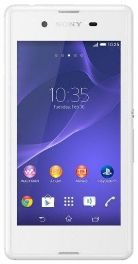 Мобильный телефон Sony Xperia E3 Dual D2212 White