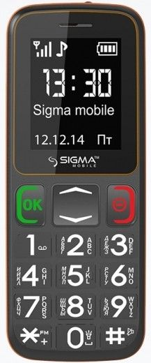 Мобильный телефон Sigma mobile Comfort 50 Mini3 Grey-Orange