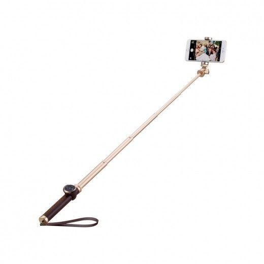 Монопод для селфи MOMAX Selfie Pro Bluetooth Selfie Pod 90cm Gold (KMS4L)