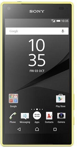 Мобильный телефон Sony Xperia Z5 Compact E5823 Yellow