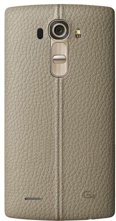 Накладка LG G4 Leather Battery Cover для LG G4 H818 Beige (CPR-110.AGEUBG)