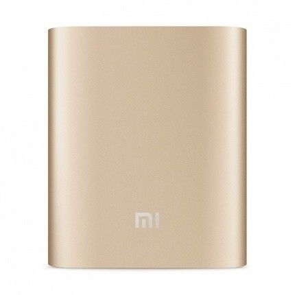 Портативная батарея Xiaomi Power Bank 10400mAh (NDY-02-AD) Gold