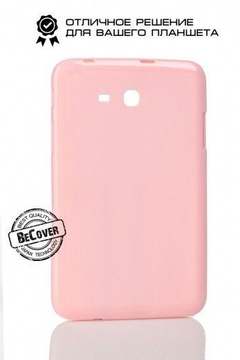 Силиконовый чехол BeCover для Samsung Tab 3 Lite T110/T111/T113/T116 Pink
