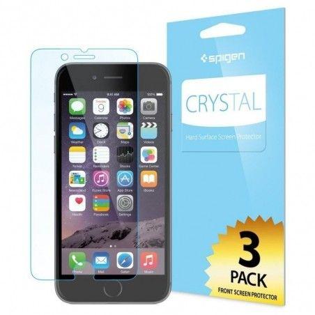 Защитная пленка Spigen Screen Protector Crystal (3 pcs of Front) for iPhone 6 (SGP10927)