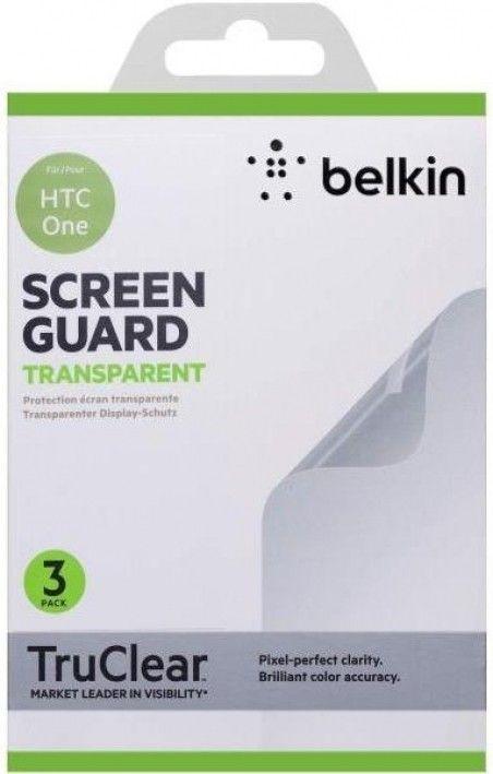 Защитная пленка Belkin HTC One Screen Overlay CLEAR 3in1 (F8M578vf3)