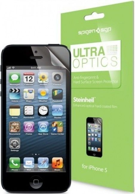 Защитная пленка Spigen Screen Protector Steinheil Ultra Optics for iPhone 5/5S/5C (SGP08199)